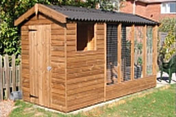 Deluxe Combination Dog Kennel